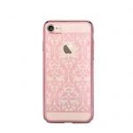 Pouzdro Crystal (Swarovski) Baroque iPhone 7 PLUS rose gold