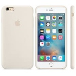 Apple iPhone 6S Plus Silicone Case Antique White, MLD22ZM/A