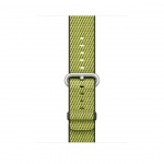 Apple Watch Acc/42/Dark Olive Woven Nylon, MQVQ2ZM/A