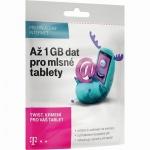 T-Mobile Czech Republic A.s. T-Mobile SIM s kreditem 410Kč Twist Online 1GB, 700 612