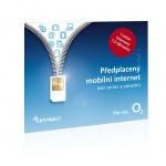 O2 Předplacený mobilní internet s 1,5GB, SMALLPO2.363Z30