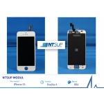 NTSUP LCD modul iPhone 5S bílý kvalita A, 38890003
