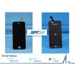 NTSUP LCD modul iPhone 5C černý kvalita A, 38890005