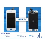 NTSUP LCD modul iPhone 5 bílý Kvalita B, 38890006