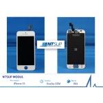 NTSUP LCD modul iPhone 5S bílý kvalita B, 38890008