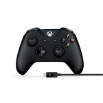 Microsoft Xbox One Gamepad + kabel pro Windows, USB, 4N6-00002