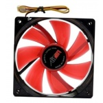 AIREN FAN RedWings120 LED RED, AIREN - FRW120LEDRED