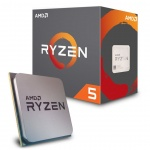 CPU AMD Ryzen 5 2600X 6core (3,6GHz) Wraith MAX, YD260XBCAFMAX