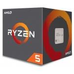 CPU AMD Ryzen 5 2400G 4core (3,9GHz) Wraith Stealth, YD2400C5FBBOX