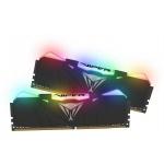 16GB DDR4-3600MHz RGB Patriot Viper CL16, kit 2x8GB black, PVR416G360C6K