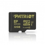PATRIOT 32GB microSDHC CL10 UHS-I 90/45, PEF32GEMCSHC10