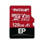 128GB microSDXC Patriot V30 A1, class 10 U3 100/80MB/s + adapter, PEF128GEP31MCX