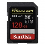 SanDisk Extreme Pro SDXC 128GB 300MB/S UHS-II, SDSDXPK-128G-GN4IN