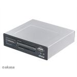 AKASA int. USB 2.0 interní čtečka karet + USB 2.0, AK-ICR-03USBV3