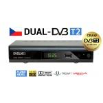 EVOLVEO Gamma T2, Dual HD DVB-T2 H.265/HEVC rekordér, DT-4060-T2-HEVC