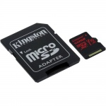512GB microSDXC Kingston U3 100R/80W s adapt., SDCR/512GB