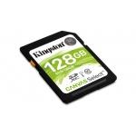 128GB SDXC Kingston Canvas Select CL10 UHS-I 80R, SDS/128GB