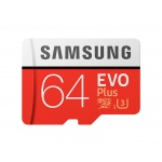 Samsung micro SDXC 64GB EVO Plus + SD adaptér, MB-MC64GA/EU