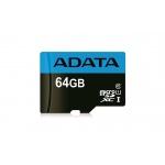 ADATA MicroSDXC 64GB UHS-I Class 10 85/25MB/s, AUSDX64GUICL10 85-R