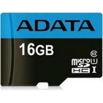 ADATA MicroSDHC 16GB UHS-I Class10 A1 10 85/10MB/s, AUSDH16GUICL10A1-R