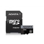 ADATA MicroSDHC 32GB U3 V30S 95MB/s + adapter, AUSDH32GUI3V30S-RA1