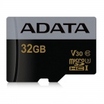 ADATA MicroSDHC 32GB U3 V30G až 95/90MB/s, AUSDH32GUI3V30G-R