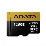 ADATA 128GB MicroSDXC UHS-II U3 s adapterem, AUSDX128GUII3CL10-CA1