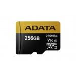 ADATA 256GB MicroSDXC UHS-II U3 bez adapteru, AUSDX256GUII3CL10-C