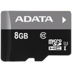 ADATA 8GB MicroSDHC Premier UHS-I Class 10, AUSDH8GUICL10-R