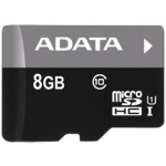 ADATA 8GB MicroSDHC Premier,class 10,with Adapter, AUSDH8GUICL10-RA1