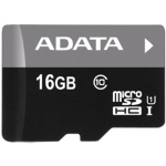 ADATA 16GB MicroSDHC Premier,class 10,with Adapter, AUSDH16GUICL10-RA1