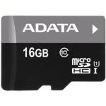 ADATA 16GB MicroSDHC Premier,class 10,with Adapter, AUSDH16GUICL10-RA1