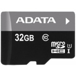 ADATA 32GB MicroSDHC Premier,class 10,with Adapter, AUSDH32GUICL10-RA1