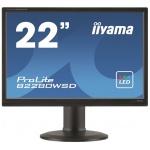 """22""""LCD iiyama B2280WSD-B1 - 5ms, 250cd/m2, 16:10, 1000:1, VGA, DVI, repro, pivot, výšk.nastav.,černý, B2280WSD-B1"""