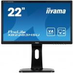 "22""LCD iiyama XB2283HSU-B1DP -5ms, 3000:1(12M:1 ACR), FHD,VGA,DVI, DP,3xUSB,repro,pivot,výšk.nastav., XB2283HSU-B1DP"