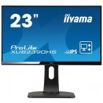 """23""""LCD iiyama XUB2390HS-B1 -IPS,5ms,250cd/m2,FullHD,HDMI,DVI-D,repro,pivot,výš.nastav., XUB2390HS-B1"""