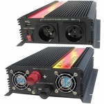 Měnič napětí Carspa CAR1.6KU-24 24V/230V+USB 1600W, modifikovaná sinus, CAR1.6KU-24
