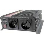 Měnič napětí Carspa CAR1KU-24 24V/230V+USB 1000W, modifikovaná sinus, CAR1KU-242