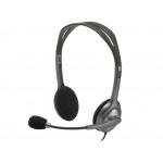náhlavní sada Logitech Stereo Headset H111, 981-000593