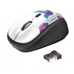myš TRUST Yvi Wireless Mouse - bird, 20251
