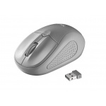 myš TRUST Primo Wireless Mouse - grey, 20785