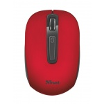 myš TRUST Aera Wireless Mouse - red, 22374