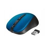 myš TRUST Mydo Silent Click Wireless Mouse - blue (tichá myš), 21870