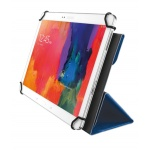 "TRUST Aexxo Universal Folio Case for 10.1"" tablets - blue, 21205"