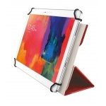 "TRUST Aexxo Universal Folio Case for 10.1"" tablets - red, 21206"