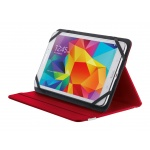 "TRUST Primo Folio Case with Stand for 7-8"" tablets - red, 20314"