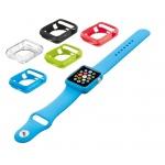 TRUST Silikonová pouzdra pro Apple Watch 38mm (5 kusů - 5 barev), 20980
