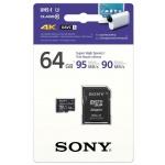 SONY microSD SR64UZ 64GB, class10, 95MB/s, adapter, SR64UZ