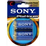 SONY Alkalické baterie AM2PTB2D, 2ks LR14/C, Stamina Platinum, AM2PT-B2D