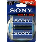 SONY Alkalické baterie AM1B2D, 2 ks LR20/D, Stamina Plus, AM1-B2D